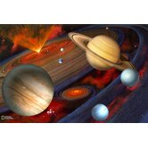 National Geographic Planets Wall Mural