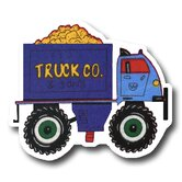 Dump Truck Drawer Knob in Blue