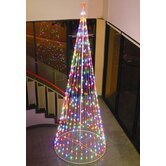 String Light Cone Tree in Multi-Color