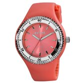 Exotic Ladies Watch with Salmon Band