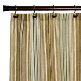 Kensington Stripe Print Shower Curtain