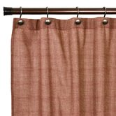 Regatta Small Textured Check Shower Curtain