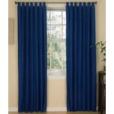 American Denim Drapes &amp; Valance Set