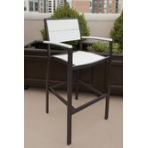 Trex Outdoor Surf City Counter Height Arm Chair