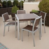 Trex Outdoor Surf City 5 Piece Dining Set
