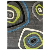Studio 600 Charcoal Geometric Design Rug