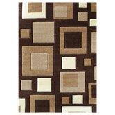 Studio 601 Brown Geometric Design Rug