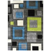 Studio 601 Charcoal Geometric Design Rug