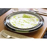 Green Season Salad Plate Set