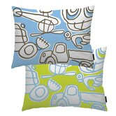 Blue Transport Pillow