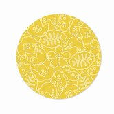 Season White/Canary Yellow Kids Rug