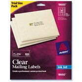 300 Count Clear Mailing Label