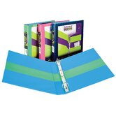 "1.5"" 2 Tone Assorted Colors Binder"