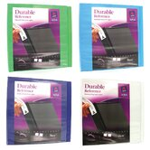 "2"" Assorted Colors Durable Reference View Binder"