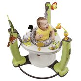 ExerSaucer Jungle Quest Jump and Learn Stationary Jumper