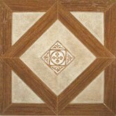 "Madison 12"" x 12"" Vinyl Woodtone / Stone Tiles (Set of 9)"