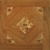 "Madison 12"" x 12"" Vinyl Woodtone / Marble Tiles (Set of 9)"