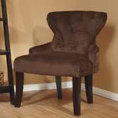 Curves Hour Velvet Slipper Chair