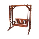 Cedar Porch Swing with Stand
