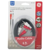 6' RCA To RCA Audio Cable