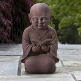Reading Buddha Statue