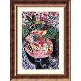 Goldfish Bronze Framed Print - Henri Matisse