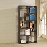 Westonville Display Cabinet in Cappuccino