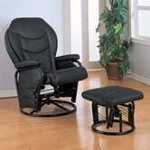Glendale Glider Rocker and Ottoman