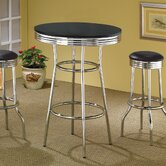 Ridgeway 30&quot; Bar Table in Black