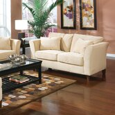 Cumberland Grove Velvet Loveseat