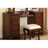 Louis Phillipe Vanity in Cherry