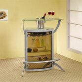 Knox Bar Unit in Silver