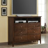 Greenville 6 Drawer Media Chest