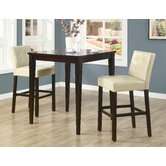 Highland Park 3 Piece Counter Height Dining Set