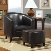 San Saba Chair and Ottoman