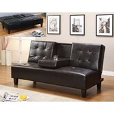 Vinyl Sleeper Sofa