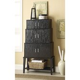 Stacked Accent Cabinet