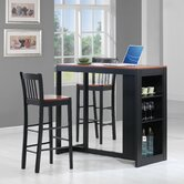 3 Piece Counter Height Table Set