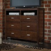 Spencer 6 Drawer Media Chest