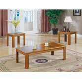 Junction City 3 Piece Coffee Table Set