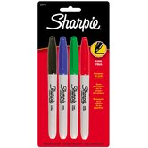 4 Count Fine Tip Sharpie