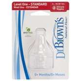 Standard Neck Baby Bottle Nipple 2 Pack