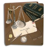 Home and Garden Scales of Justice Large Book Photo Album