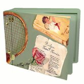 Sports Rules of Tennis Mini Memory Box