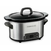 Kitchen Electrics 4 QT Digital Slow Cooker