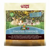 Living World Timothy Toppings Flower and Herb Mix Small Animal Treat - 17.8 oz.