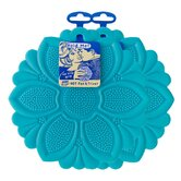 Blue No-Slip Grip Hot Pad Pot Holder  - Set of 2
