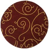 Structure Archer Burgundy/Gold Rug