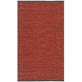 Matador Copper Leather Chindi Rug