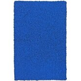 Shagadelic Neon Blue Kids Rug